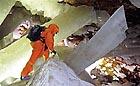 Sál s těmito krystaly je znám jako Křišťálová jeskyně obrů
